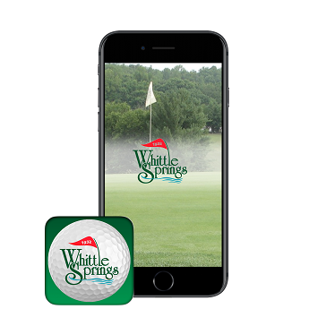 Whittle Springs app banner - phone icon
