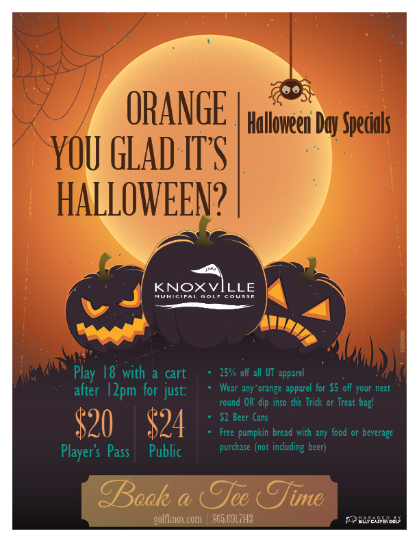Halloween Day Specials - Flyer