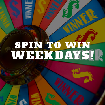 Spin to Win Weekdays at Rob Roy Golf Course