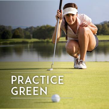 Practice Facility - Driving Range - Practice Green