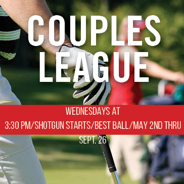 Couples league at jackson park golf course