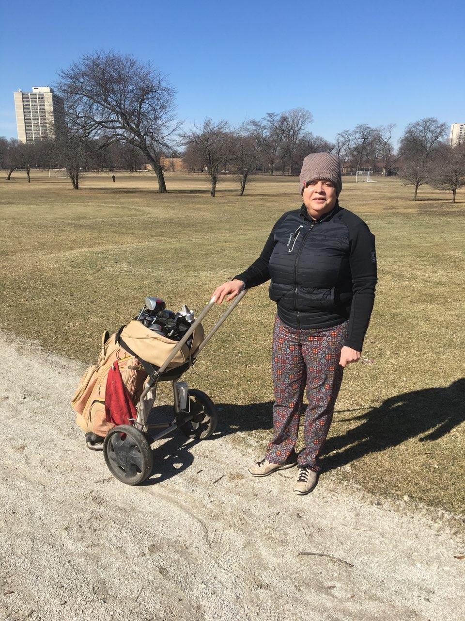 EARLY SPRING GOLFING AT JACKSON PARK
