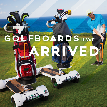 GolfBoards at a Billy Casper Golf Course