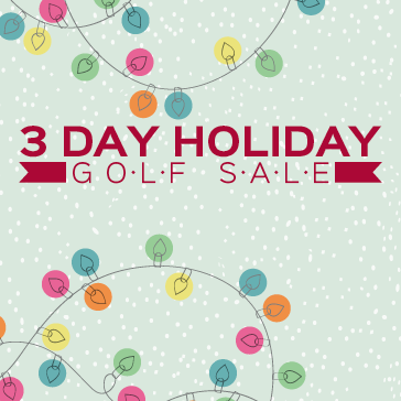 Holiday Golf Shop Sale at Forest Preserve Golf