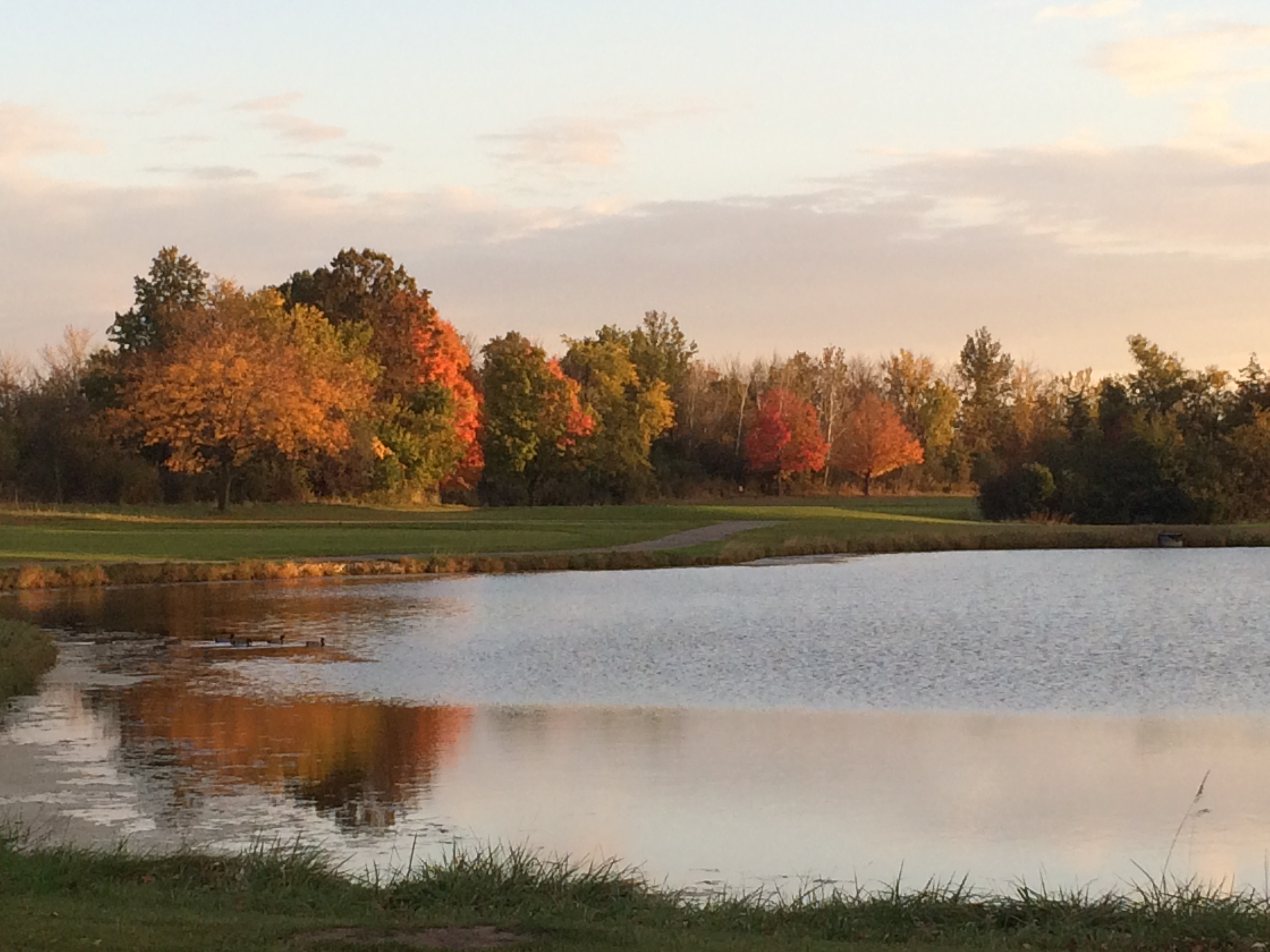 Fall Golf at George W. Dunne National