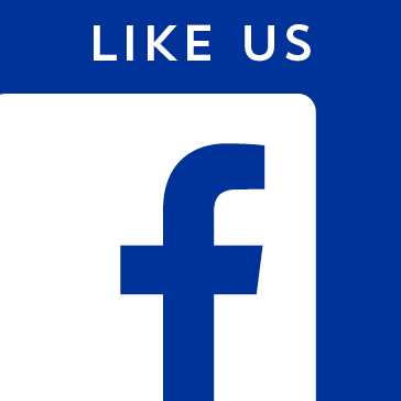 follow like us on facebook