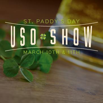 St. Paddy's Day USO Show at Sun 'N Lake