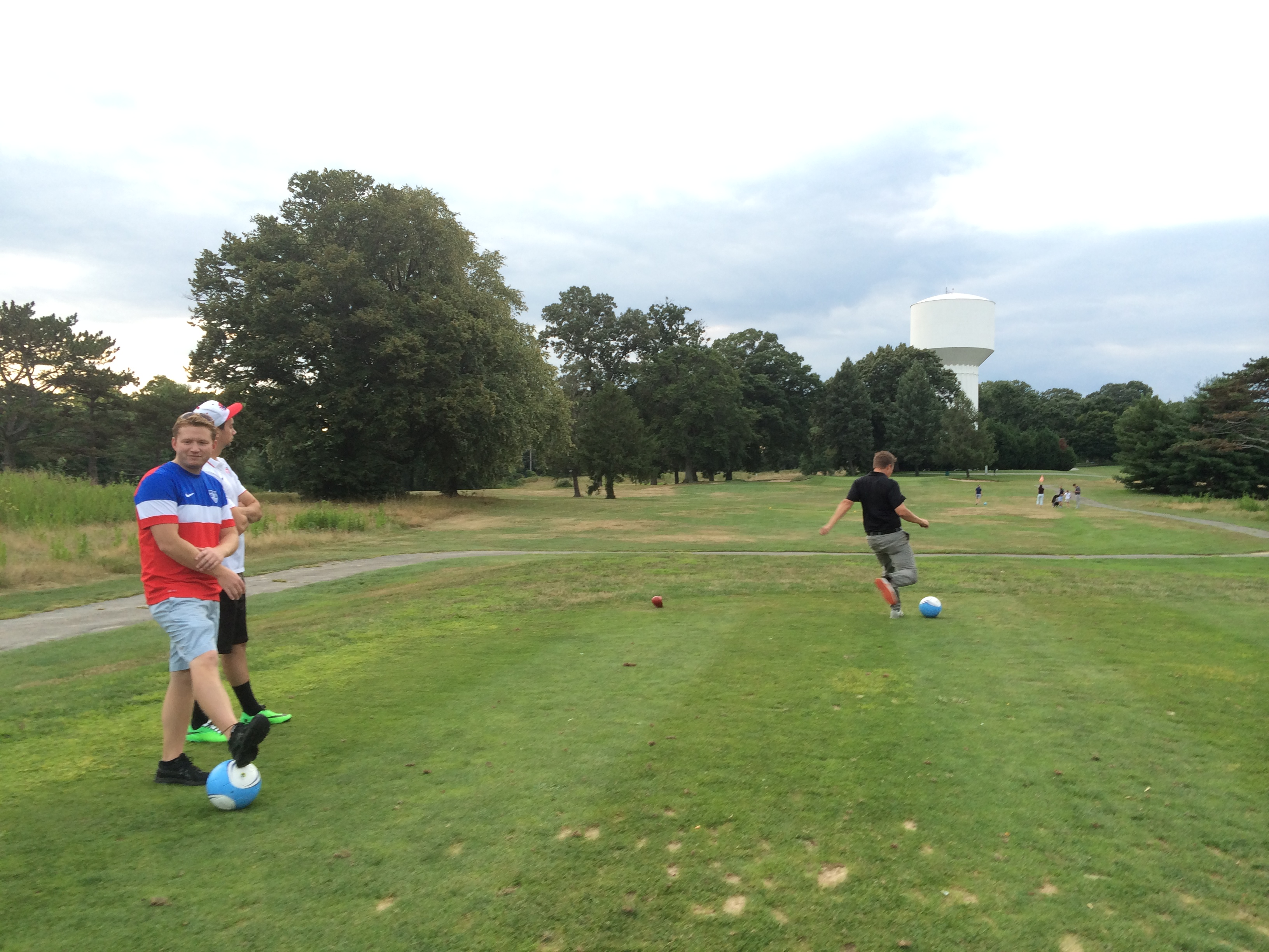Ed Oliver FootGolf opening