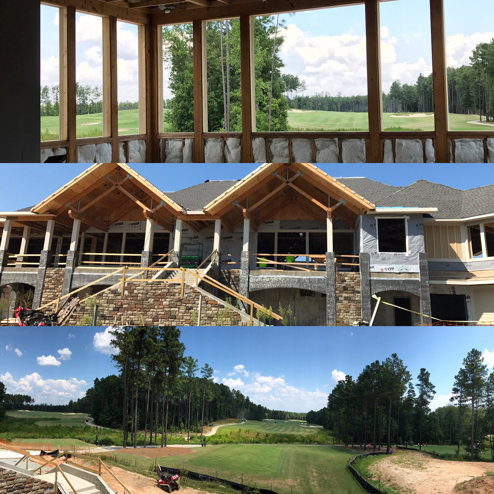 Clubhouse collage