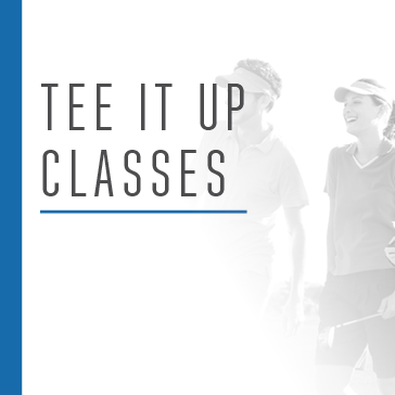 Tee It up Classes at Reston National allow golfers new to the game to learn golf in a group setting
