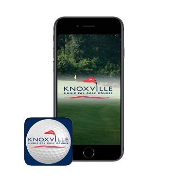 Knoxville Golf App - phone banner