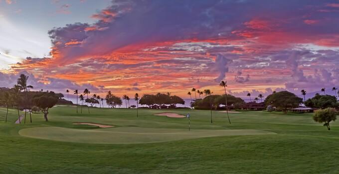 Royal Ka'anapali Hawaiian sunset