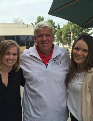John Daly visits Alta Vista Country Club