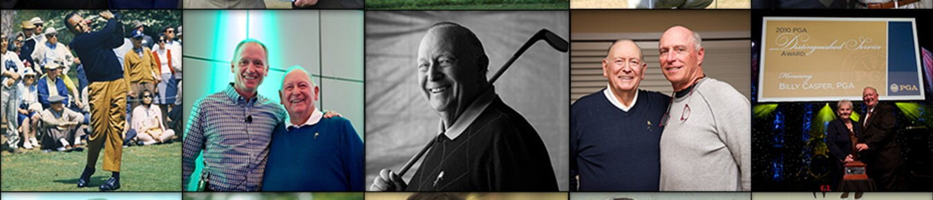 Billy Casper, Family man and PGA Tour legend