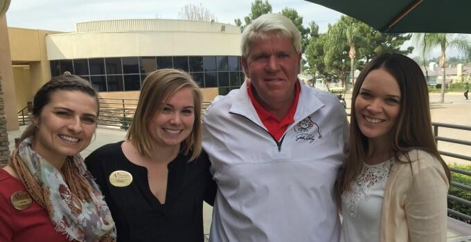 John Daly visits Alta Vista Country Club