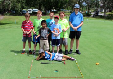 Junior Academy at Dubsdread Golf Course in Orlando, FL