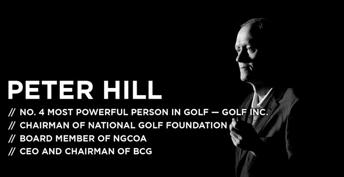 Peter Hill, Chairman and CEO of Billy Casper Golf
