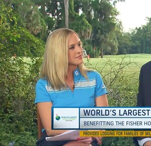 WLGO 2019 Golf Channel Lauren and Tony