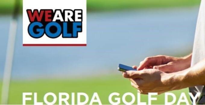 Florida Golf Day Banner