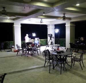 Golf Channel WLGO St. Johns setup
