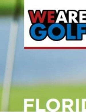 Florida Golf Day Banner