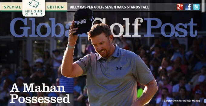 Global Golf Post Mahan cover