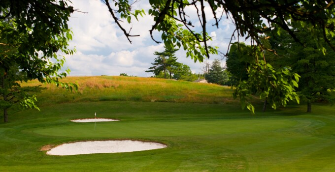 RedGate Golf Course bunkers