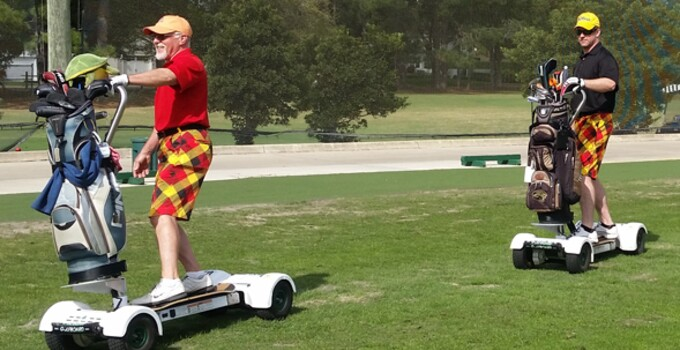 GolfBoarding