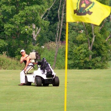 Cincinnati Recreation Commission Golf Courses: Reeves Golf Course on single passenger golf carts, single rider golf car, solo rider golf carts,