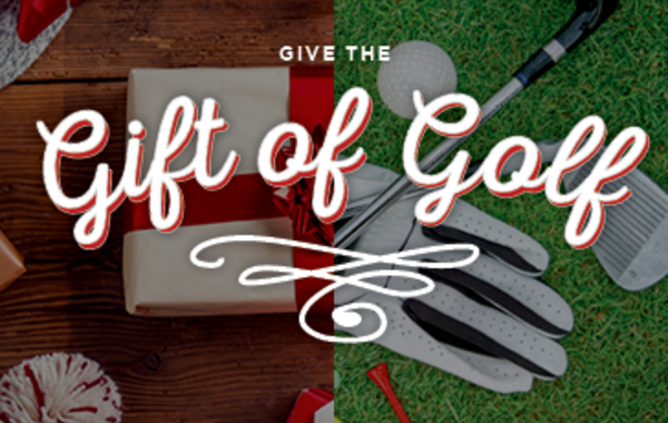 Give the Gift of Golf