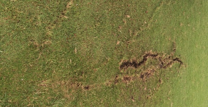 Fairways Lightning Strike