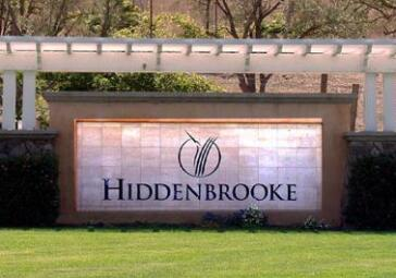 Hiddenbrooke Sign