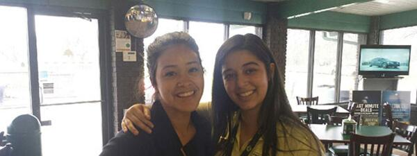 Gina Rodriguez, Jane The Virgin Golfs at Indian Boundary