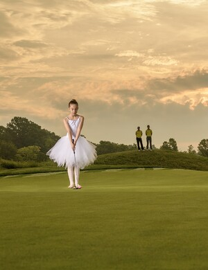 Ballerinas on the Green