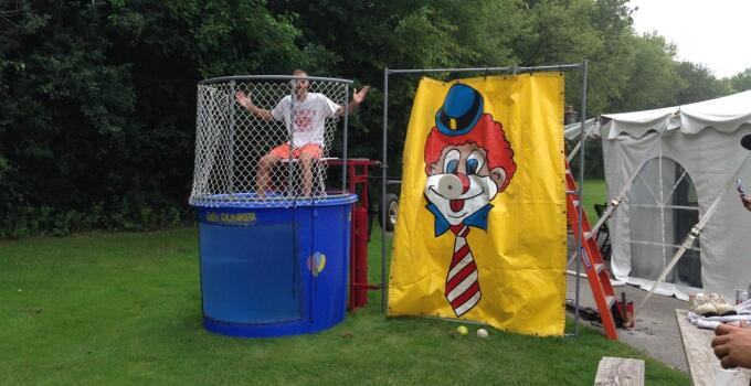 Jered gets dunked BEFORE
