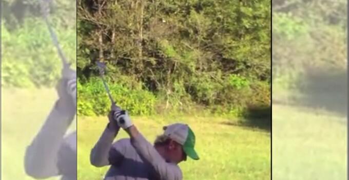 Snedeker skeet shooting