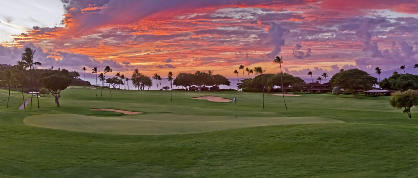 ka anapali golf courses golf courses in maui hawaii