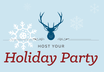 Host your holiday party with us!