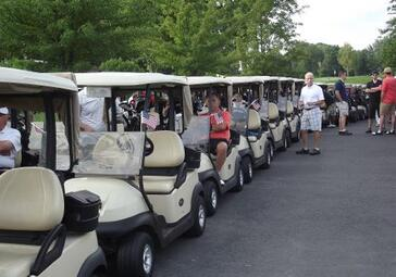 Book Your Golf Outing - golf carts