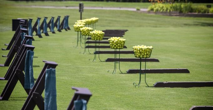 Heatherwoode's new range and practice facility