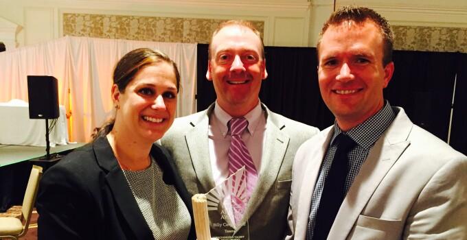 Billy Casper Golf presented with 2015 Helios HR Apollo Award
