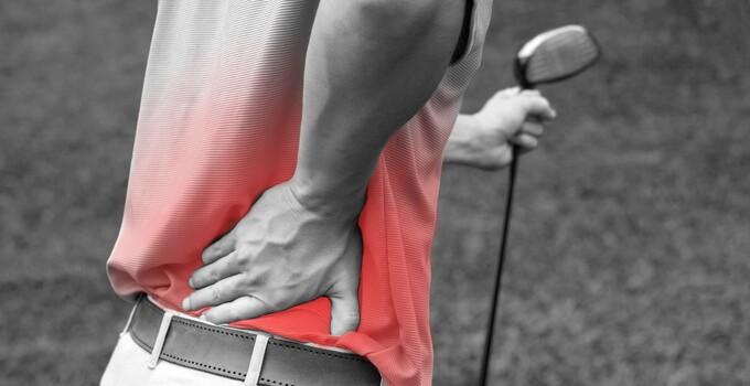 golfer back pain