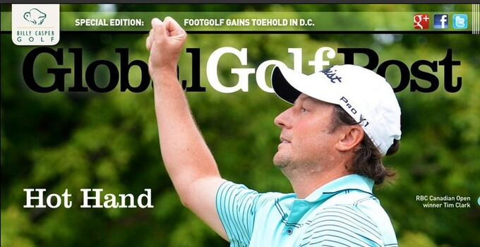 Tim Clark wins the RBC Canadian Open