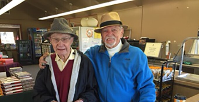 Lowell Jones, Brea Creek, turns 100
