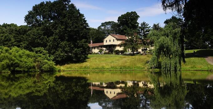 Delcastle Golf Course clubhouse