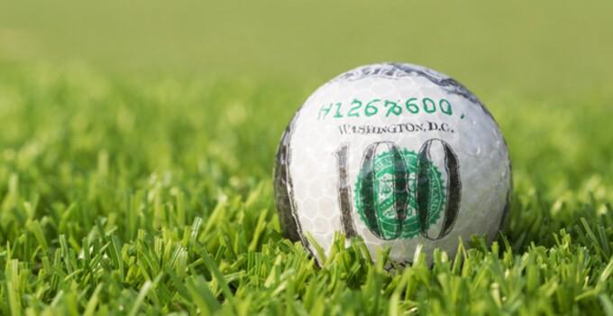$100 Golf Ball