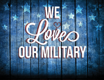 Image result for we love our military