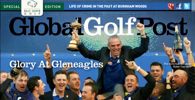 Global Golf Post Ryder Cup cover