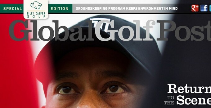 GGP Tiger Woods return cover