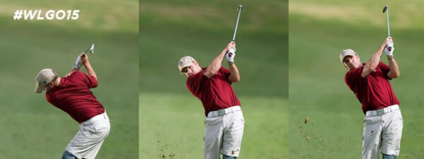 World's Largest Golf Outing, Dan Nevins a wounded service member